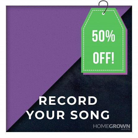 Record Your Song - Usually £950
