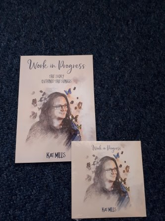 'Work in progress' album and book