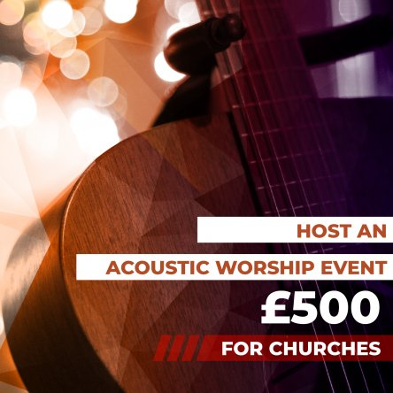 Host An Acoustic Event