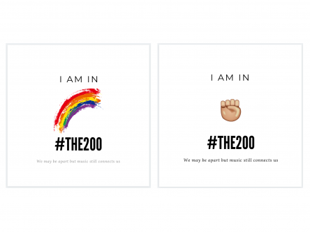 I am in #the200 Limited Edition Double Sided Signed Print