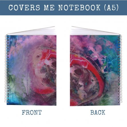 Exclusive Covers Me Notebook (A5, lined)