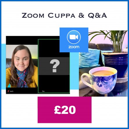 Zoom Cuppa & Q&A