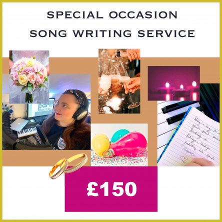 Special Occasion Song Writing Service
