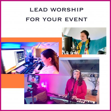 Contact me to lead worship for your Event or Church