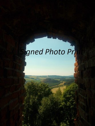Signed Photography Print - Pecka Castle, Czech Republic