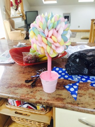 Hand Made Fizzy Sweet Tree